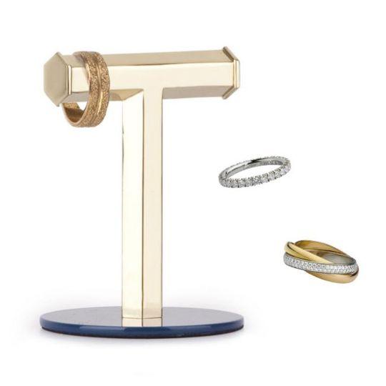 Подставка для колец Geo T С кольцами