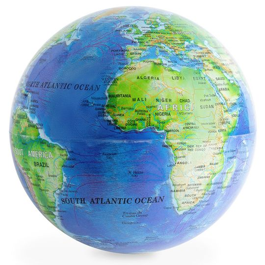 Вращающийся глобус Magic 360° (Синий)