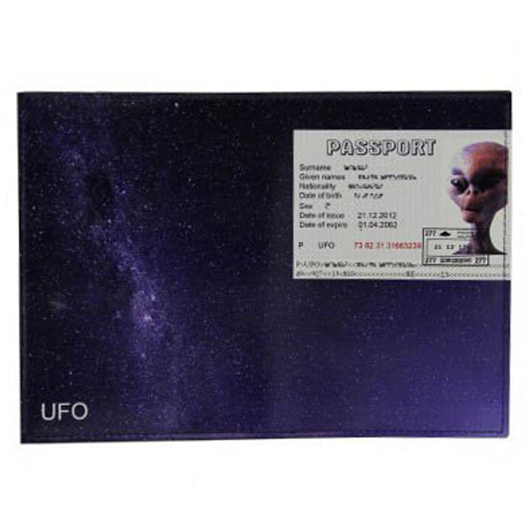 Обложка для паспорта Пришелец UFO