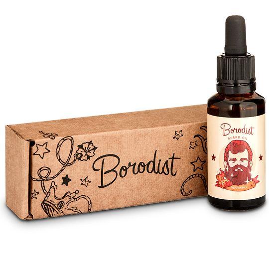 Масло для бороды Borodist Beard Oil Warming (30 мл)