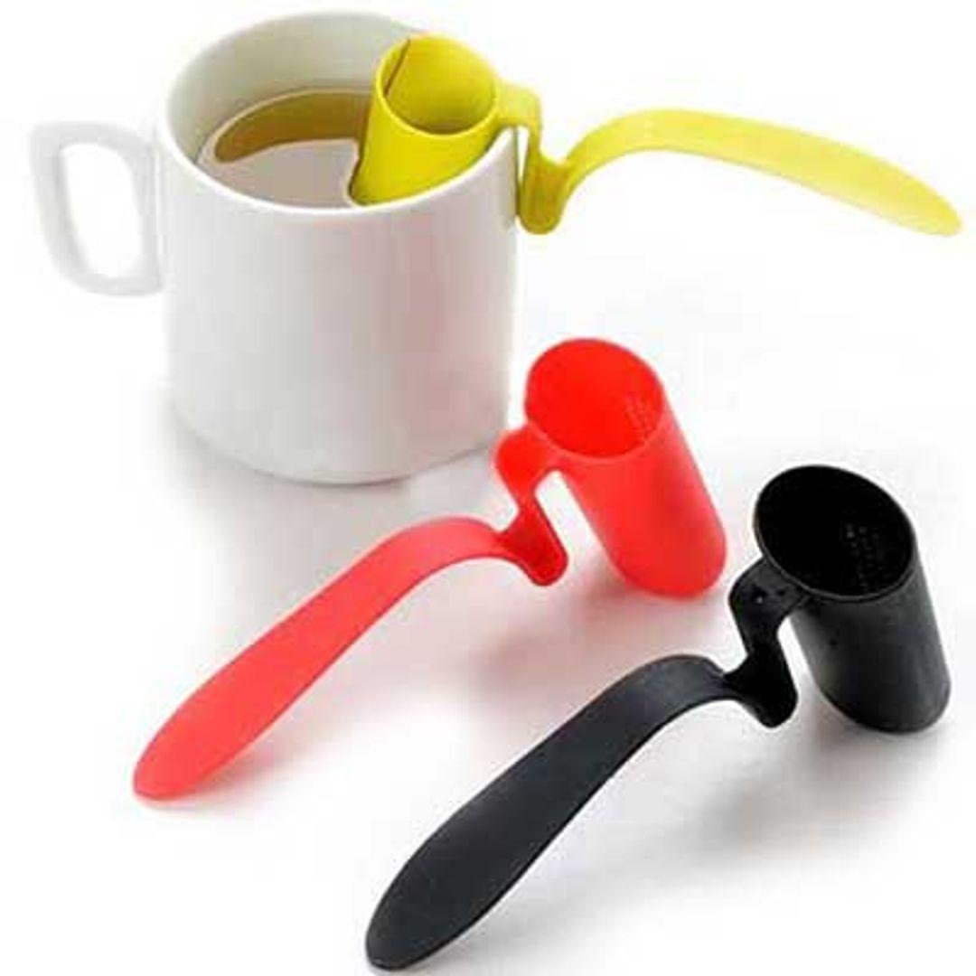 Заварник для чая на кружку Tea Strainer (Салатовый, красный, черный)