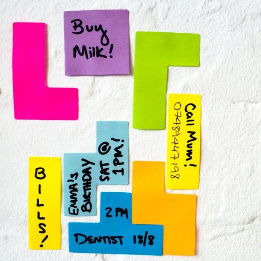 Набор стикеров Тетрис Sticky Notes