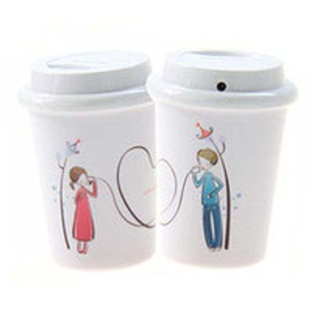 USB Увлажнитель воздуха Стакан с кофе (Love is)