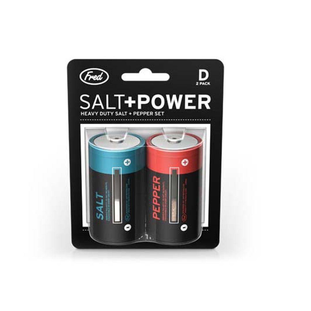 Солонка и перечница Батарейки Salt+Power