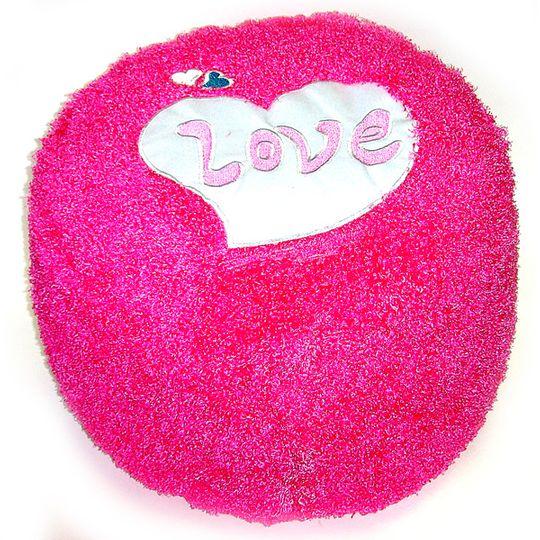 Надувной пуфик Love