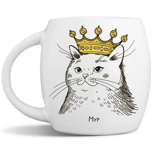 Кружка Кошка в короне Мур