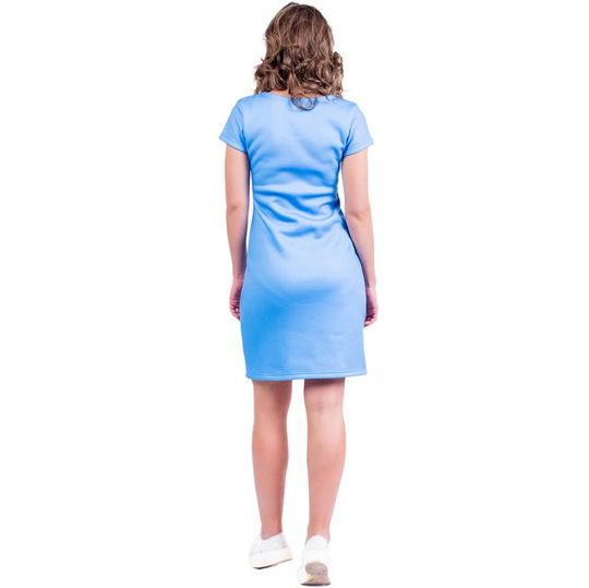Платье Sub-Zero (Футляр) Вид сзади
