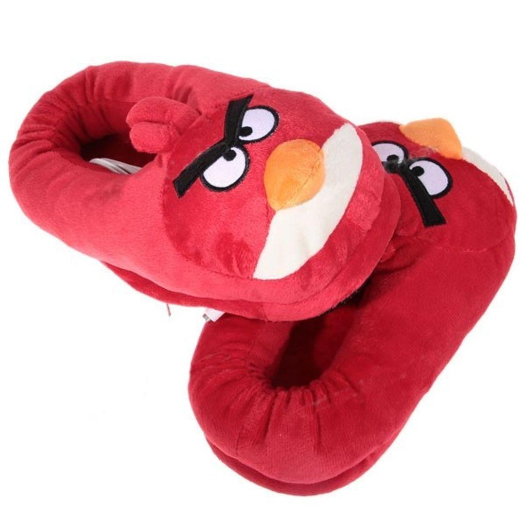 Тапочки с подогревом от USB Angry Birds