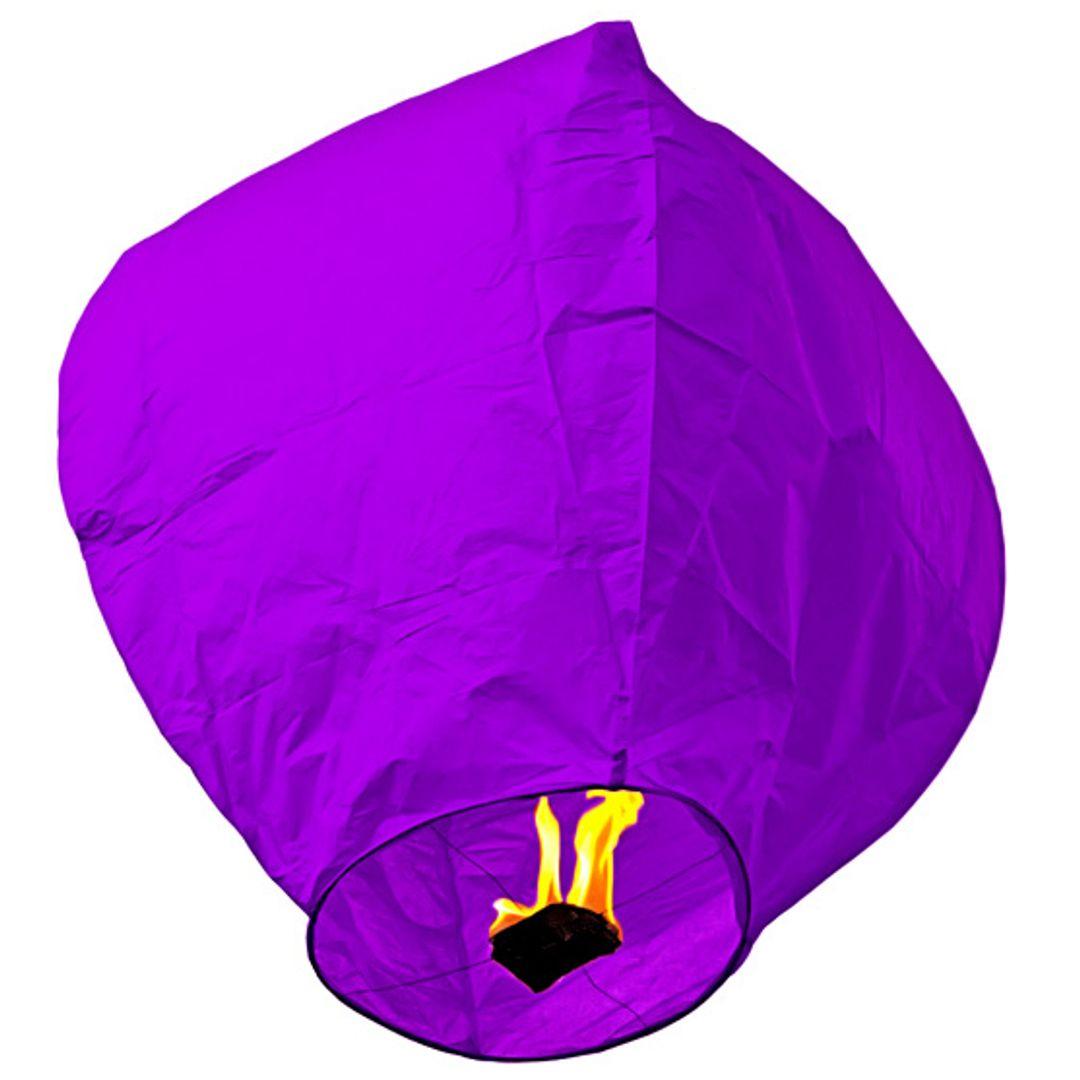Летающий фонарик (Фиолетовый)