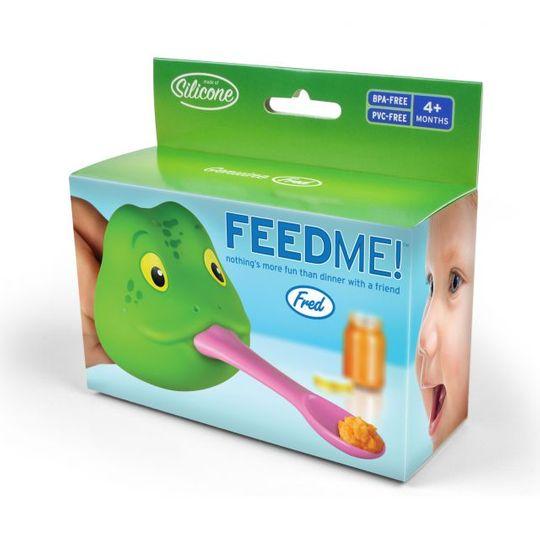 Ложка для кормления Лягушка FeedMe