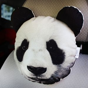 Подушка на подголовник Панда