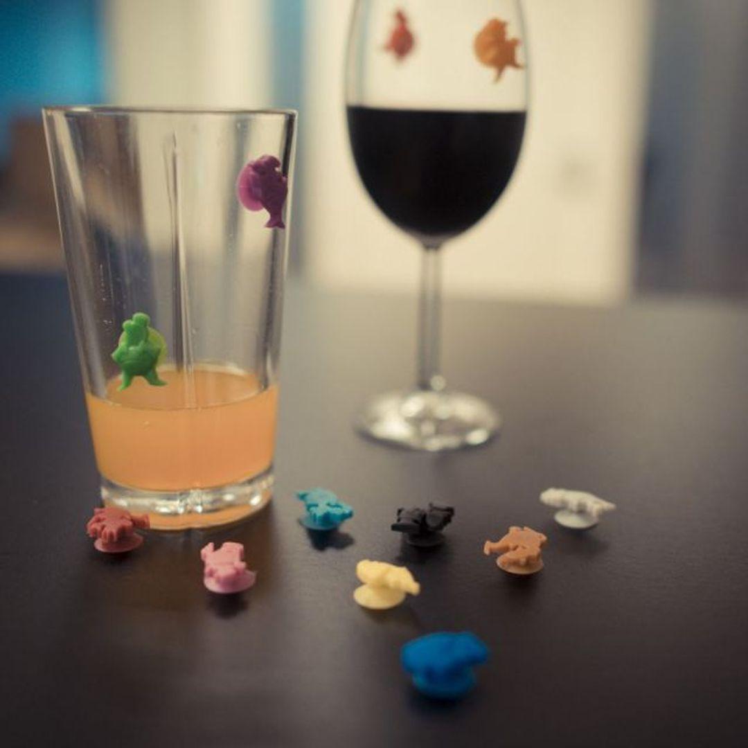 Маркеры для стаканов Человечки