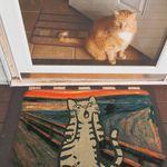 Коврик для входной двери Мяурик