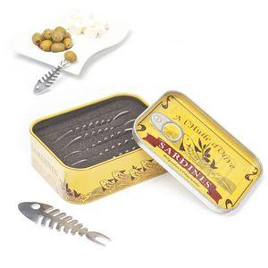 Шпажки для закусок Сардины Sardines (6 шт.)