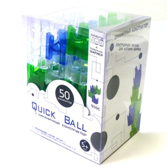 Конструктор Quick Ball 50 элементов