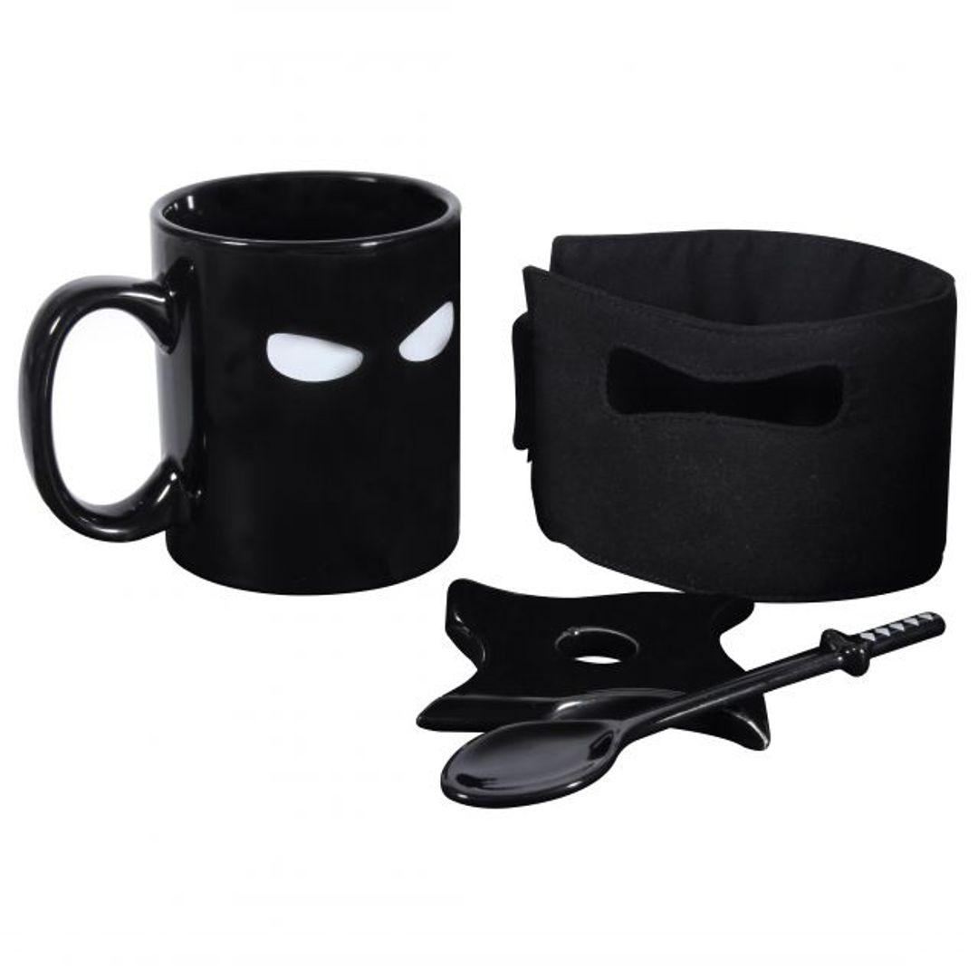 Кружка Ниндзя Ninja Mug Весь комплект