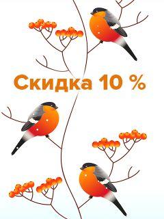 Промокод на скидку 10%