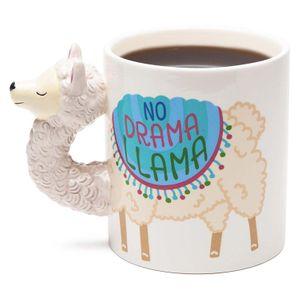 Кружка Лама No Drama Llama