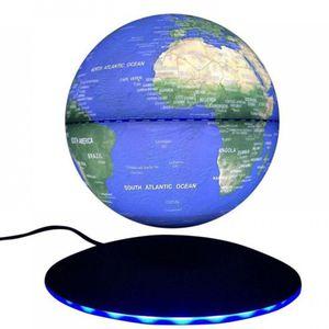 Настольный левитирующий глобус с подсветкой 14 см