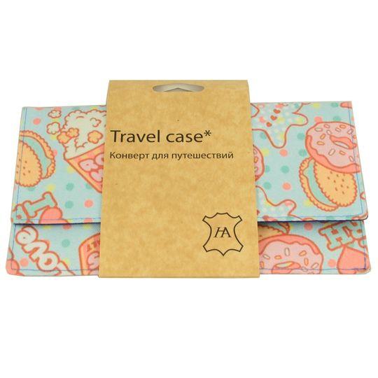Конверт для путешествий Sweet Popcorn В упаковке