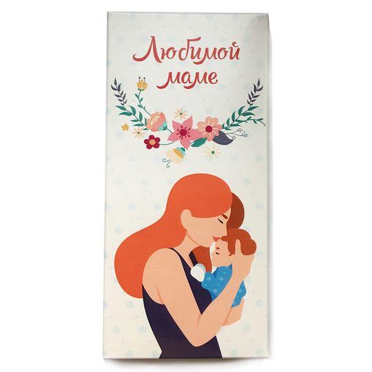 Шоколадная плитка Любимой маме