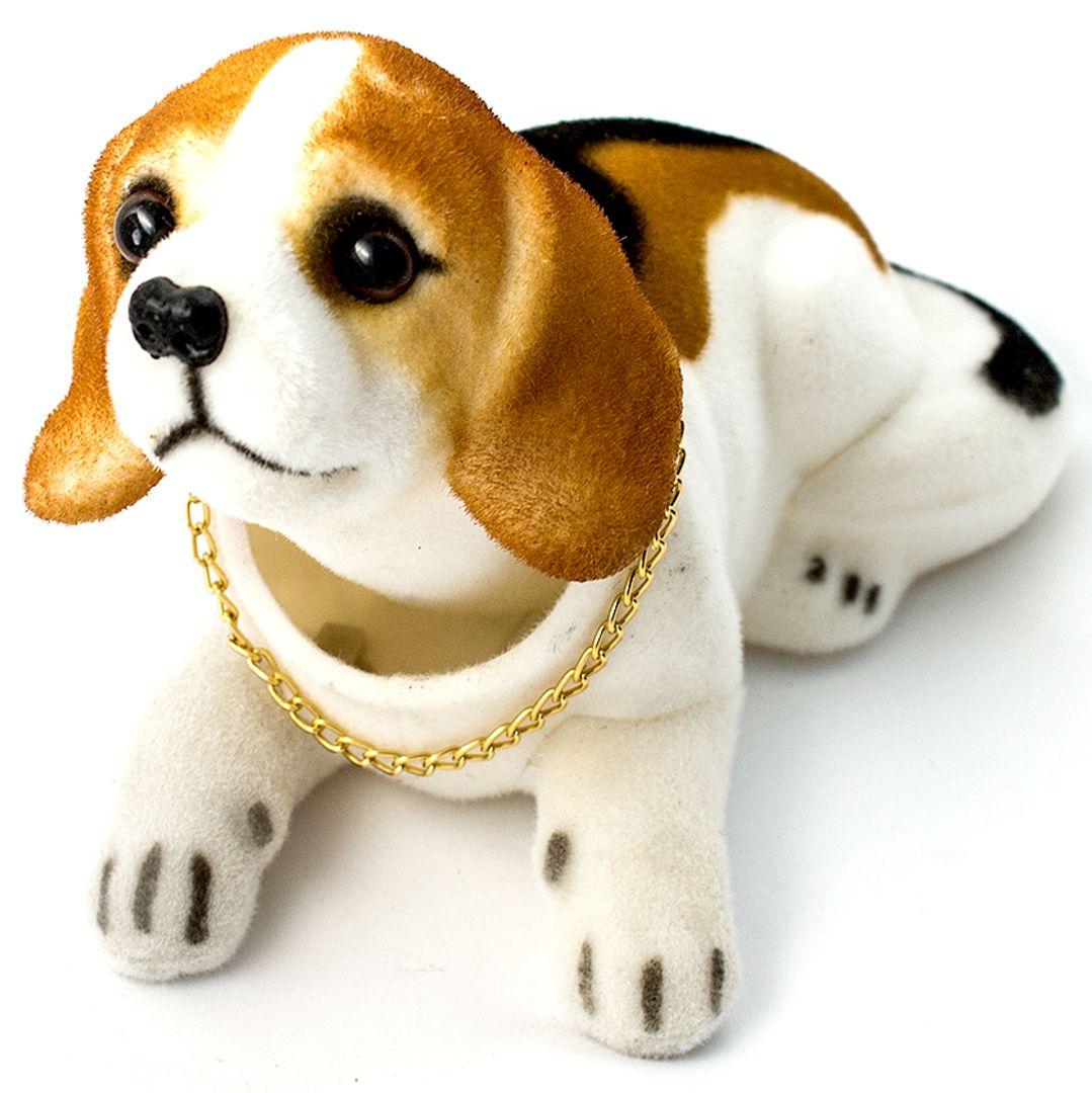 Кивающая собачка Бигль