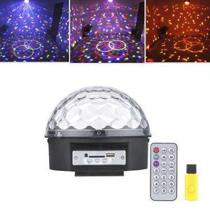 Светодиодный дискошар с динамиком Led magic ball light