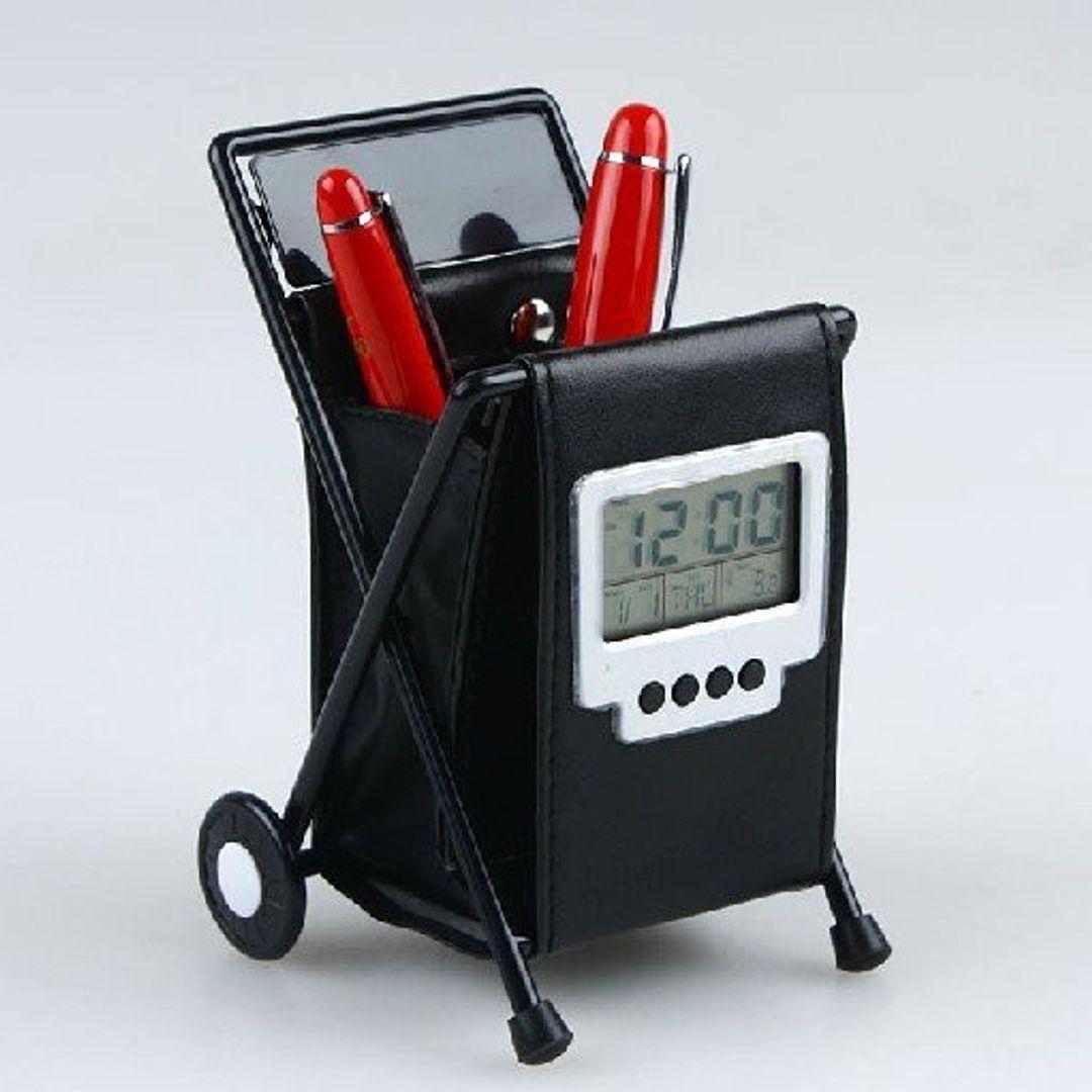 Часы Подставка под карандаши