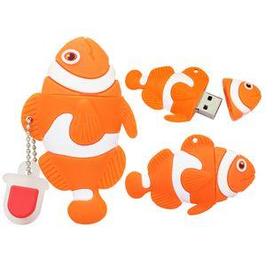 Флешка Рыба клоун 16 Гб