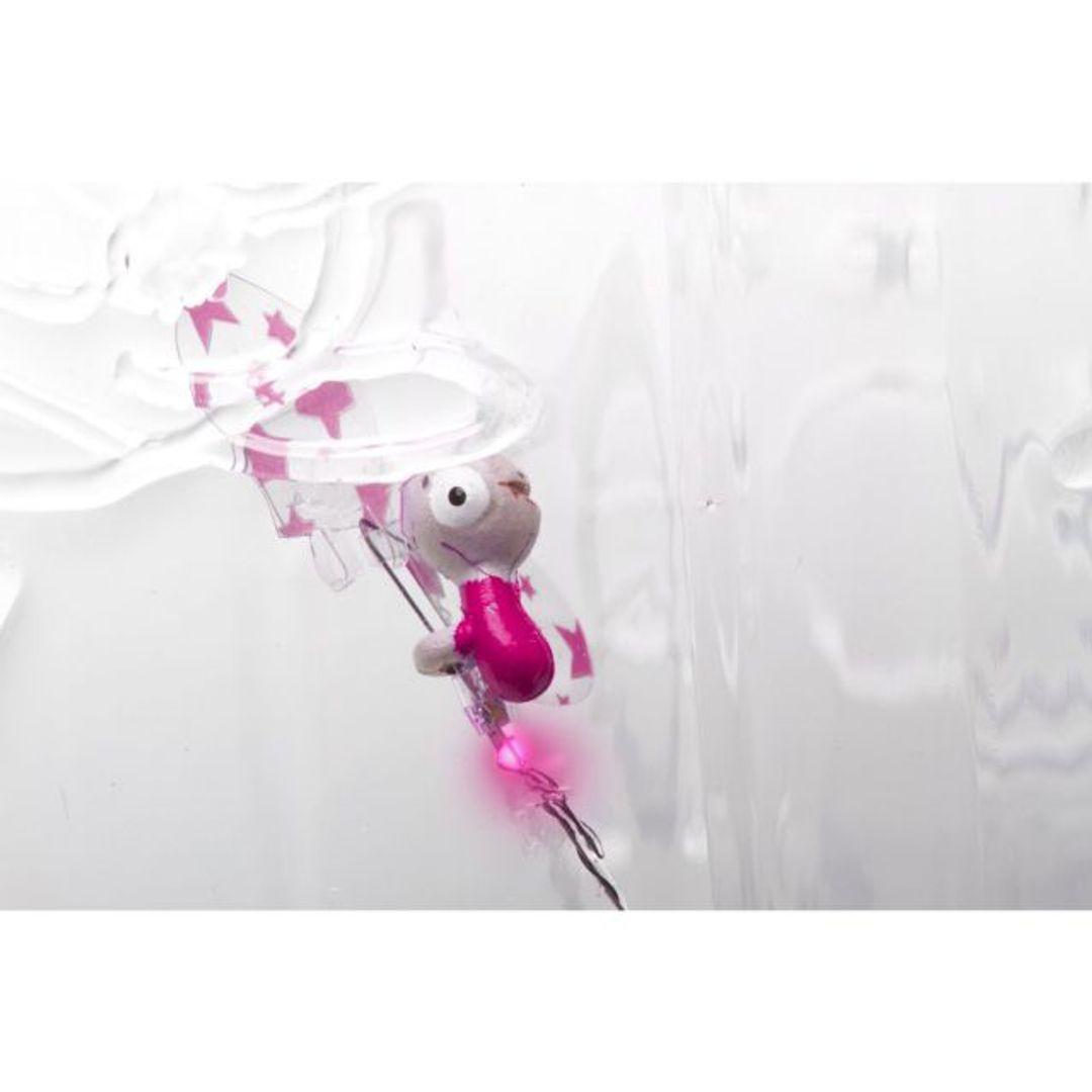 Светлячок в банке Розовый