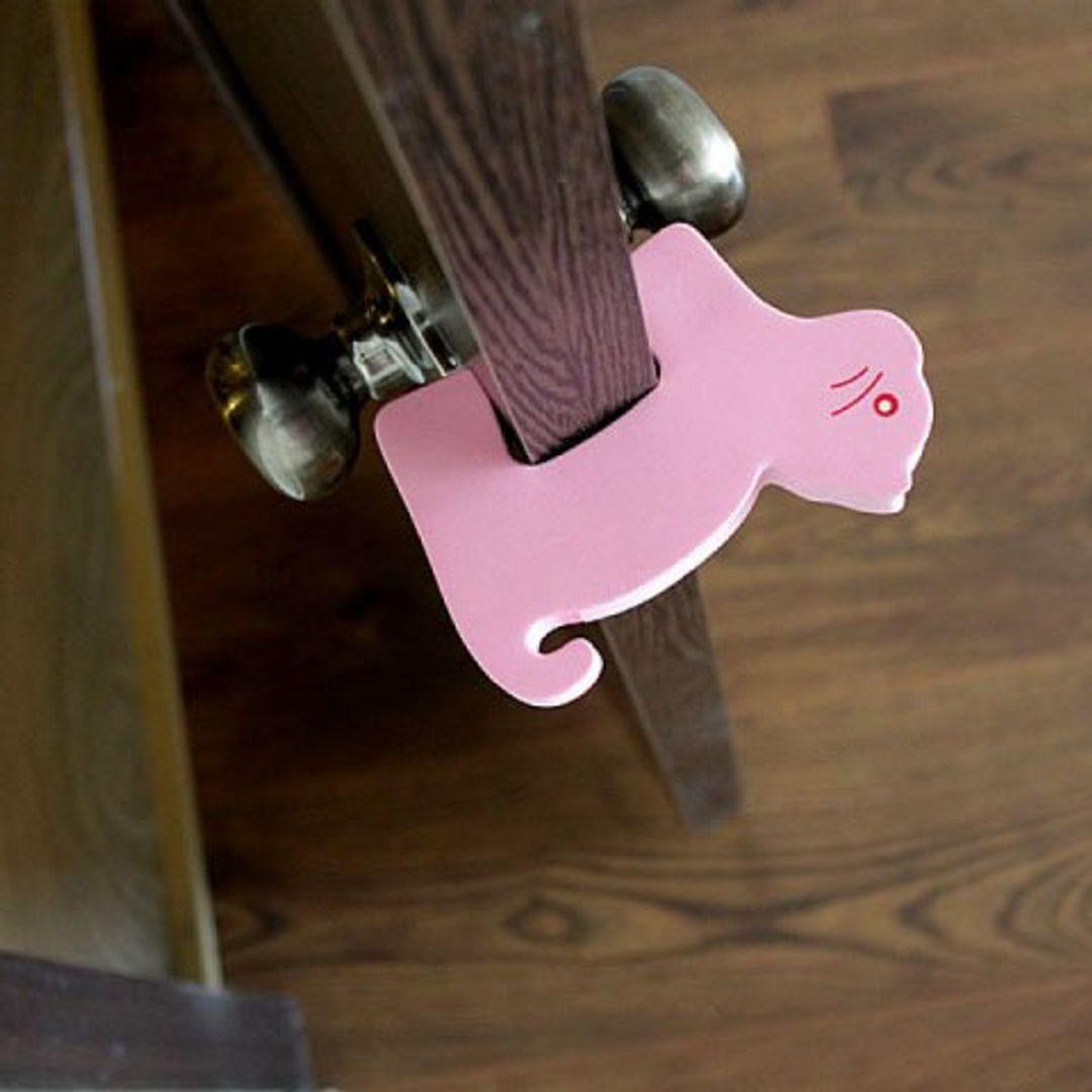 Стоппер для двери Кот