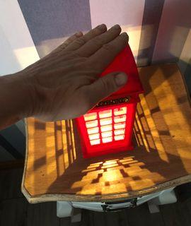 USB Светильник Красная английская телефонная будка Отзыв