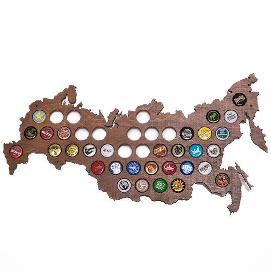 Карта для пивных крышек (Beer bank) (Темный)