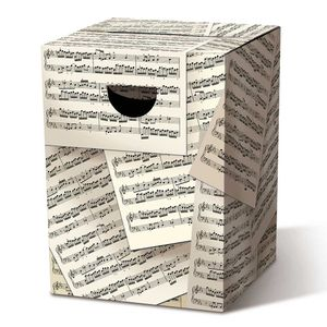 Складной картонный табурет Allegro