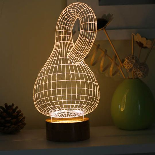 3D Лампа Бутылка Клейна