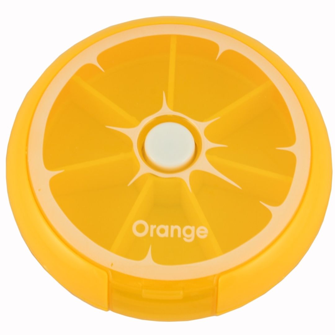 Таблетница Цитрус (Апельсин)