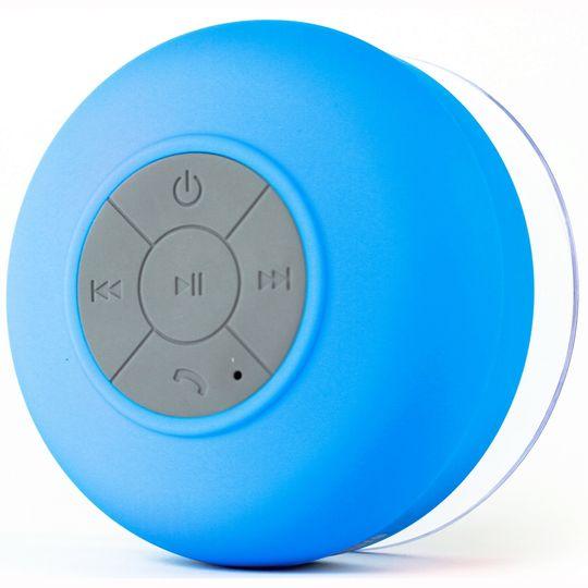 Водонепроницаемый Bluetooth динамик для душа (Голубой)