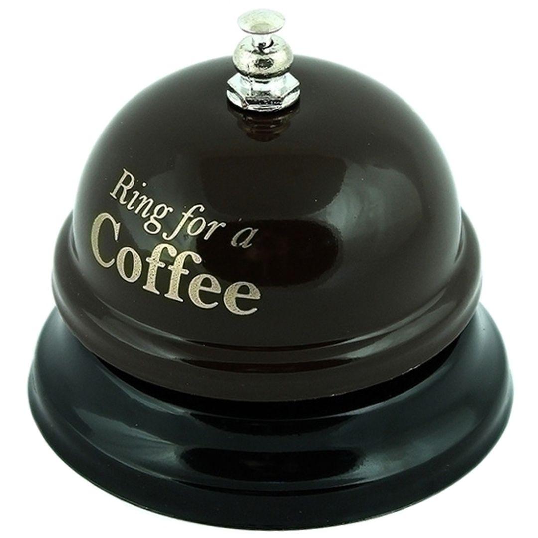 Звонок настольный Время кофе Ring for a Coffee