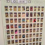 Скретч-постер 100 книг Отзыв