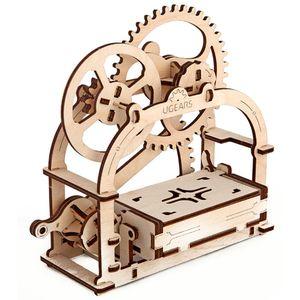 Механический 3D Пазл Ugears Шкатулка