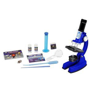 Детский микроскоп в кейсе (48 предметов)