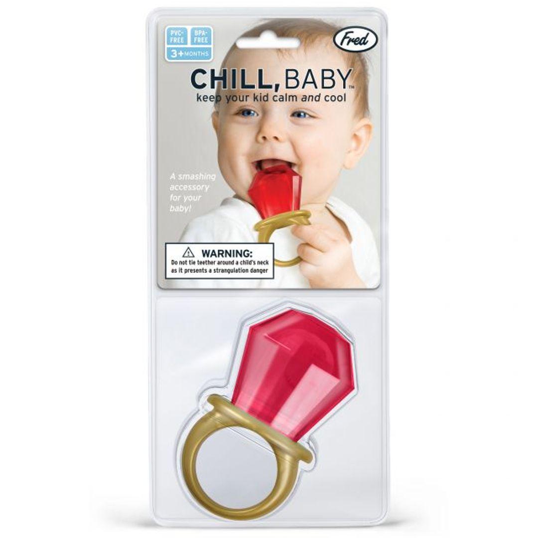 Прорезыватель для зубов Перстень Chill, Baby
