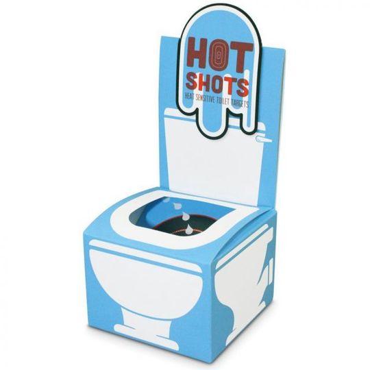 Мужская игра для туалета Hot shots