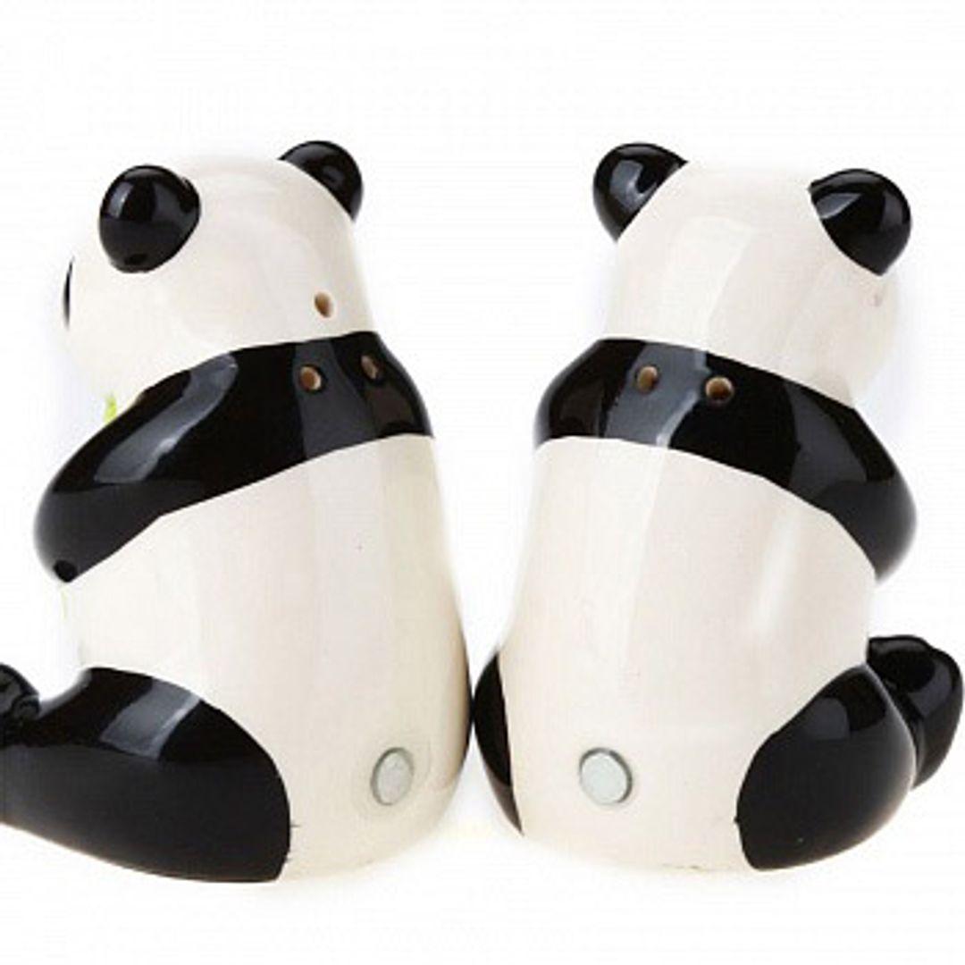 Солонка и перечница Панда