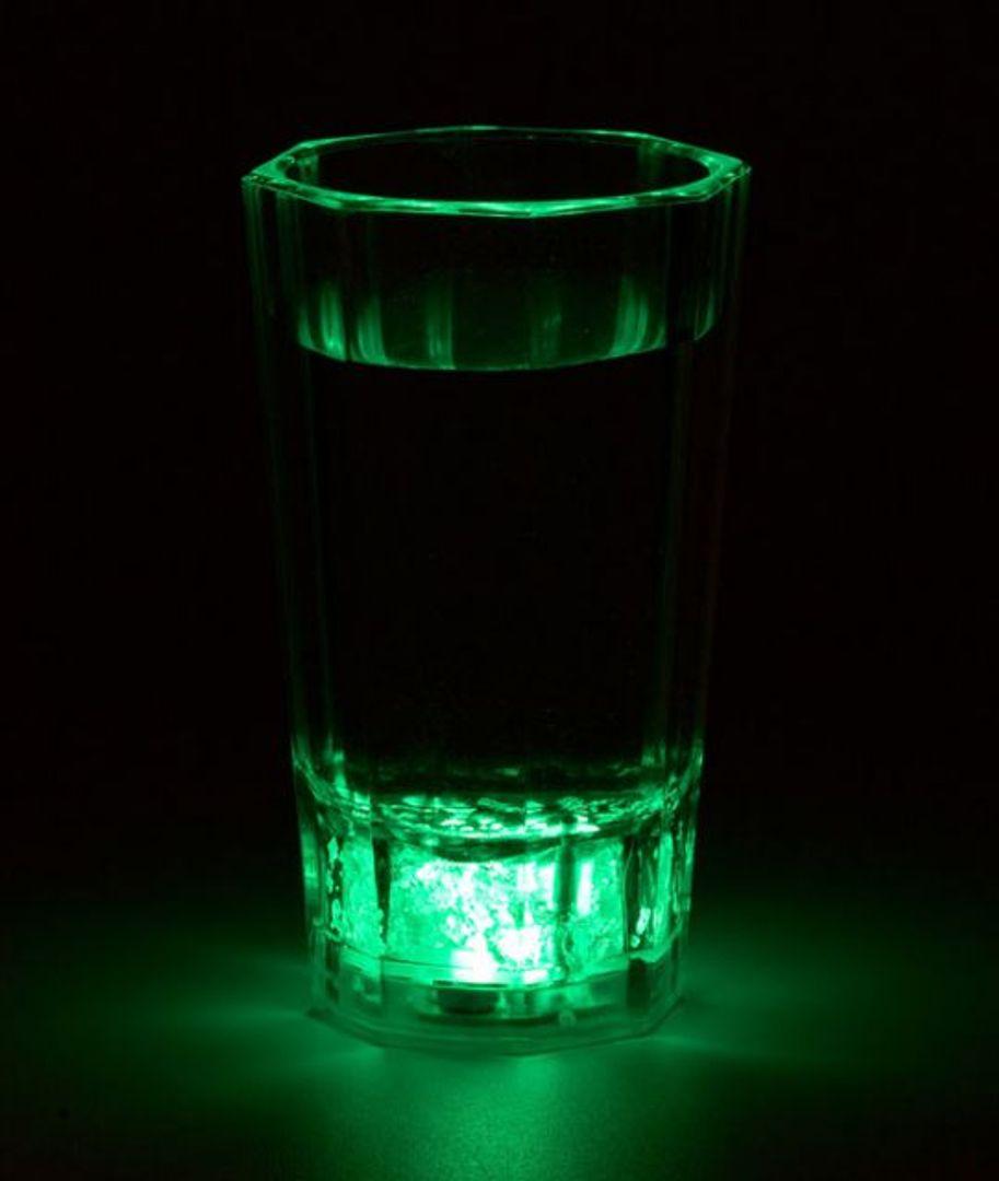 Сверкающая Рюмка Зеленая MT5001