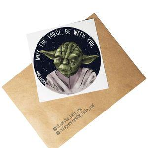 Стикер Star Wars Йода