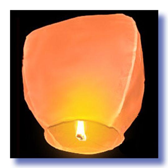 Летающий фонарик Оранжевый