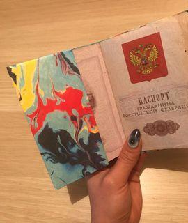 Обложка для паспорта New wallet New Woodstock Отзыв