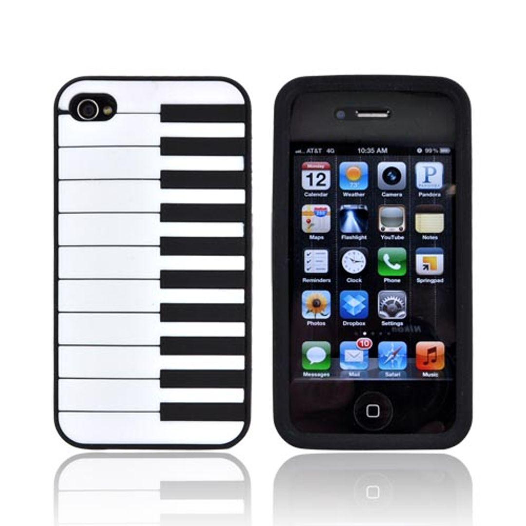 Чехол iPhone 4 Пианино