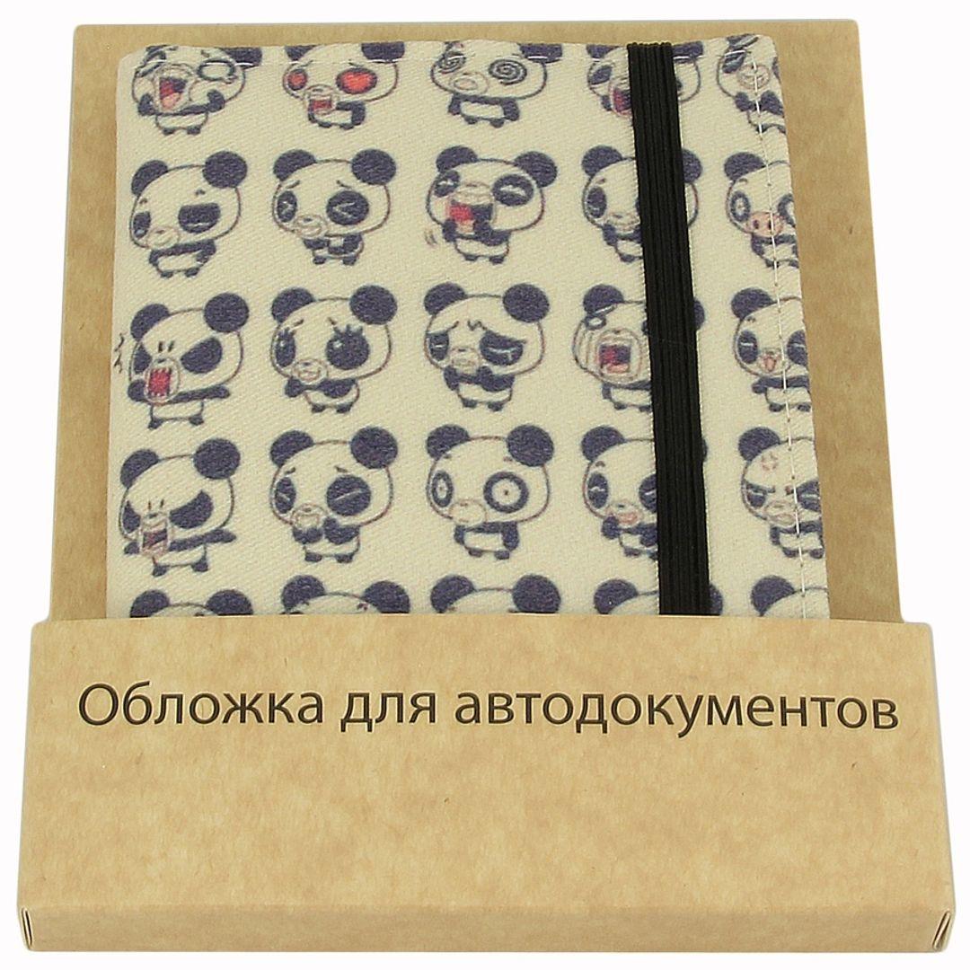 Обложка для автодокументов Be Panda В упаковке